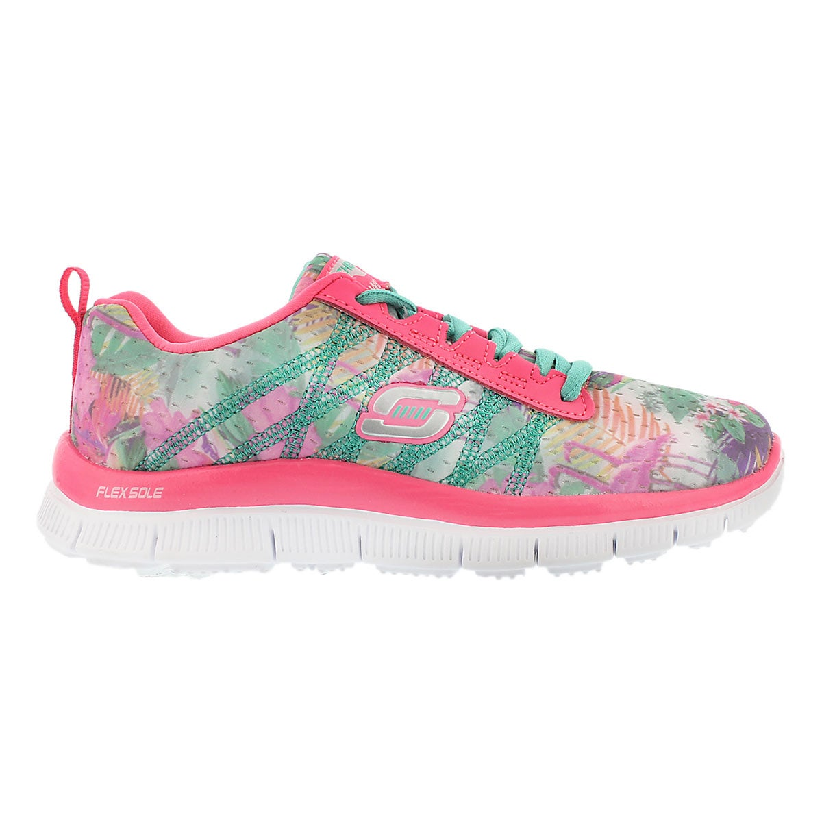 Grls Floral Bloom pink/mlti running shoe