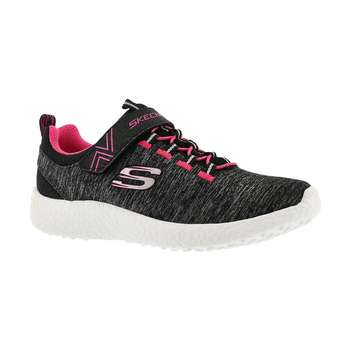 Grls Burst Equinox blk/pnk running shoe
