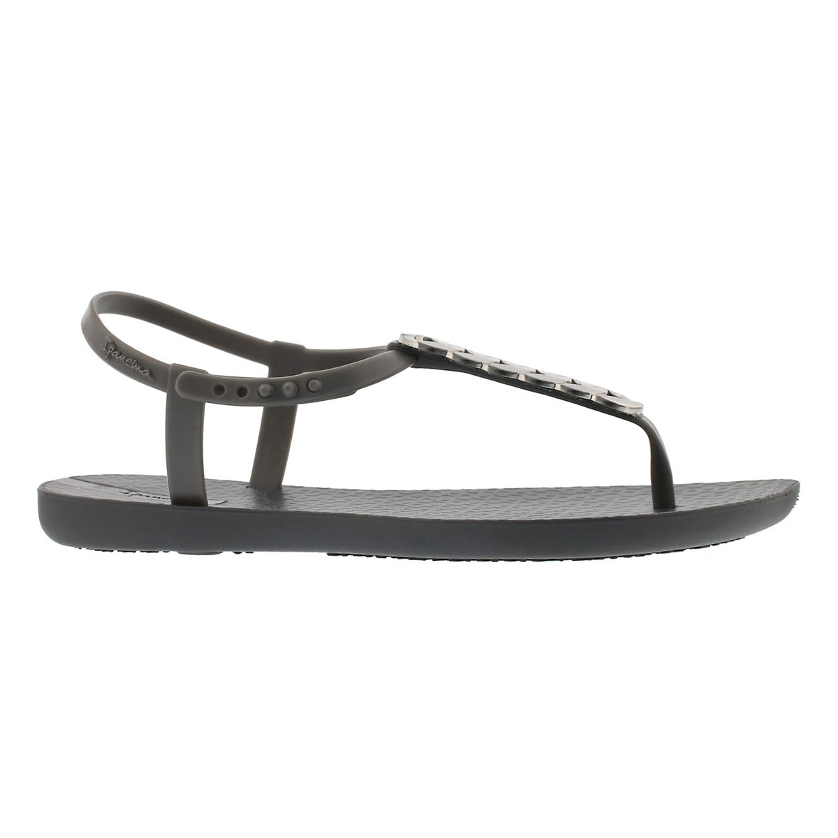 Women's CHARM IV SAND grey t-strap sandals