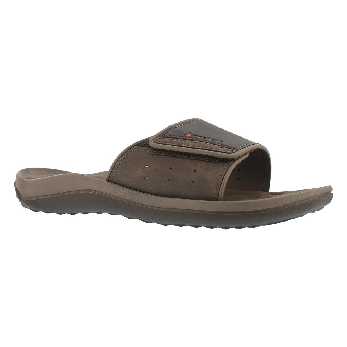 Mns Dunas Evolution brn/brn slide sandal