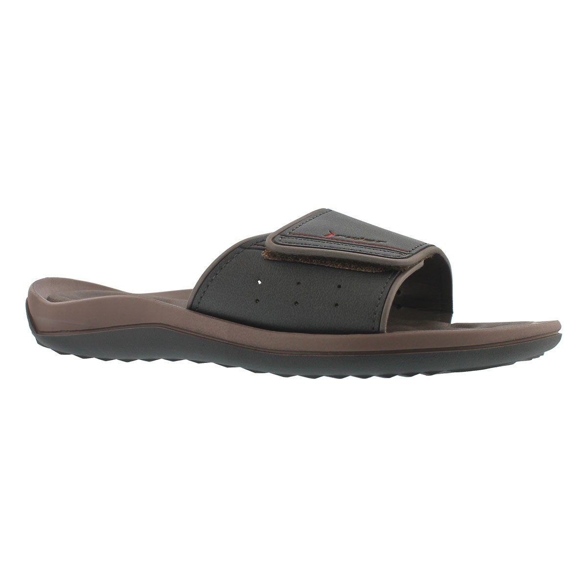 Men's DUNAS EVOLUTION brown/black slide sandals