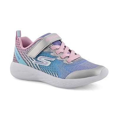 Grls Go Run 600 blu/pnk sneaker