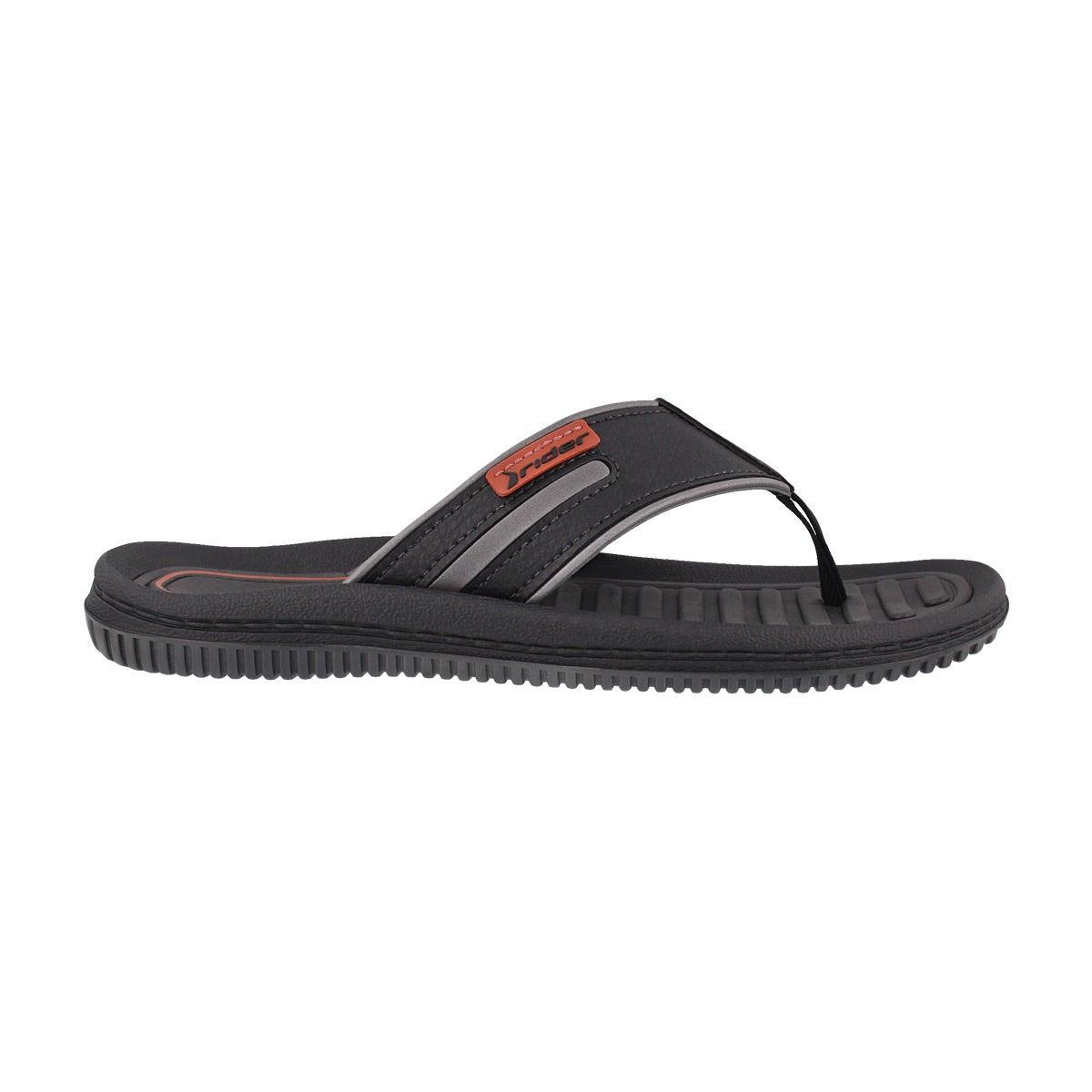 Mns Dunas XV gry/blk thong sandal