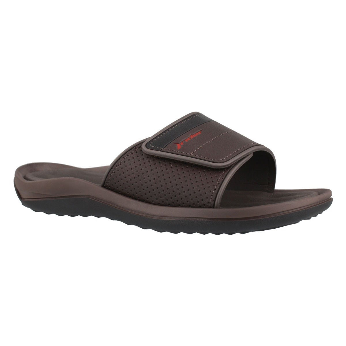 Mns Evolution Slide II brn/blk sandal