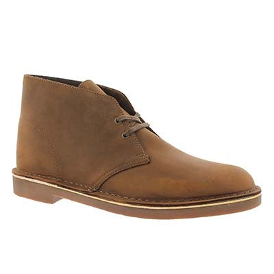 Clarks Men's BUSHACRE 2 DESERT BOOT leather chukkas