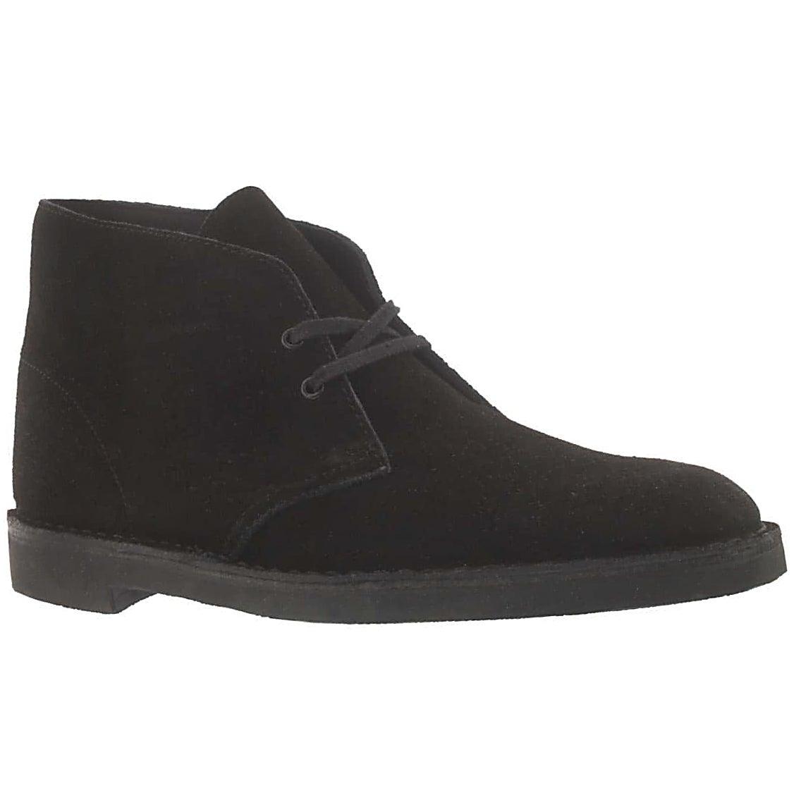 Mns Bushacre black suede desert boot