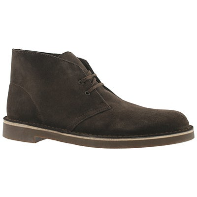 Mns Bushacre brown suede desert boot