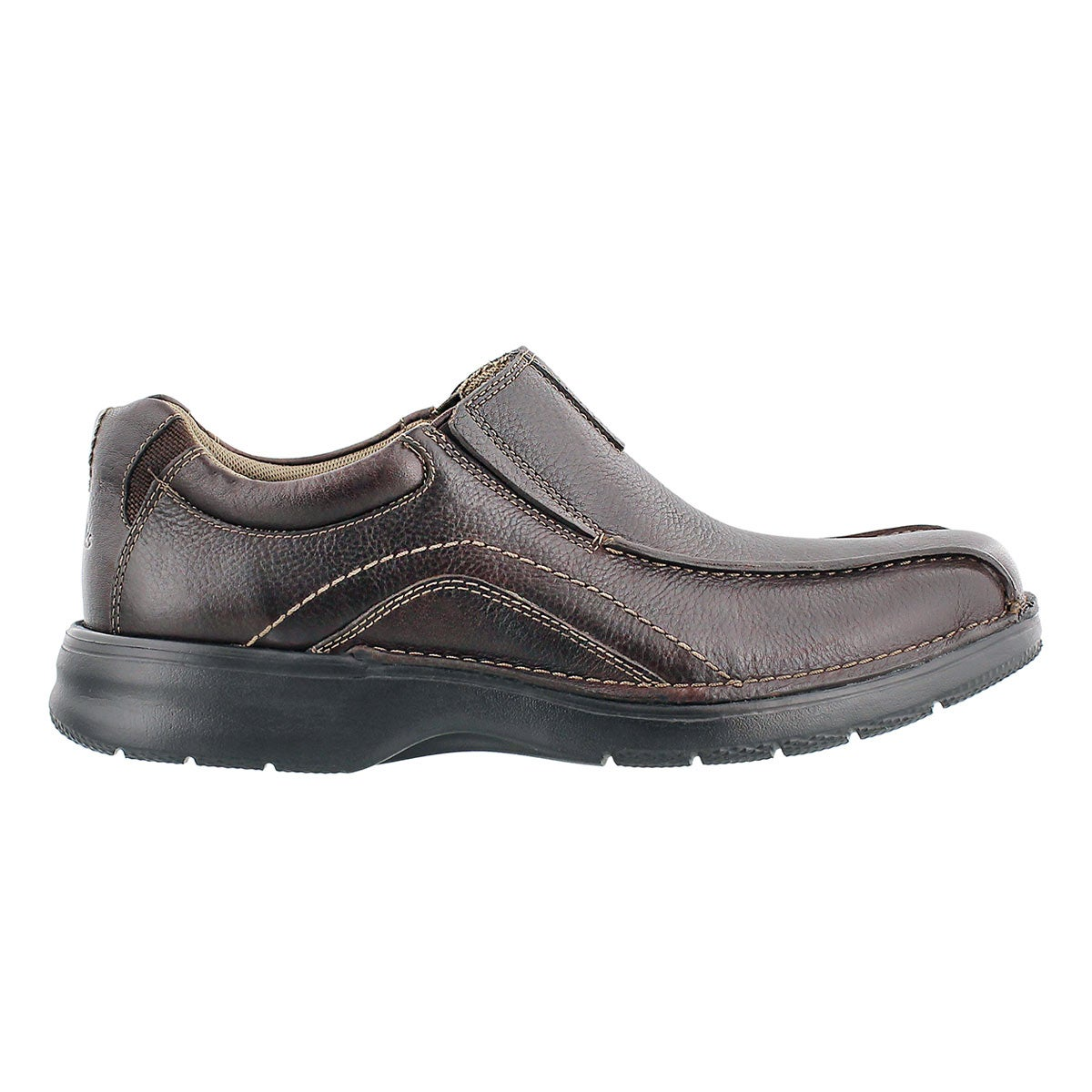 Mns Pickett brown oily casual slip on