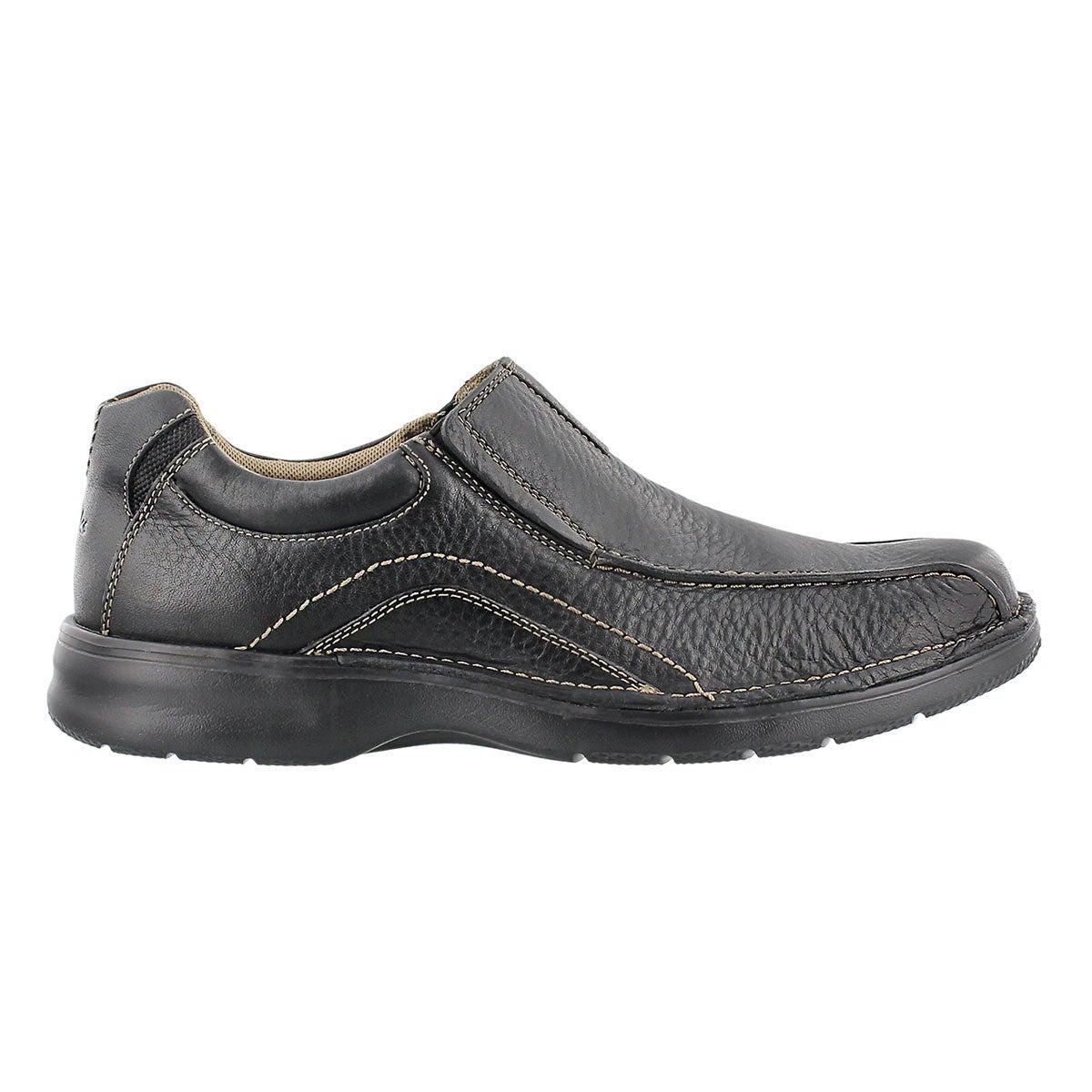 Mns Pickett black oily casual slip on
