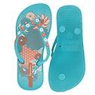 Glrs Anatomic Lovely blue flip flop