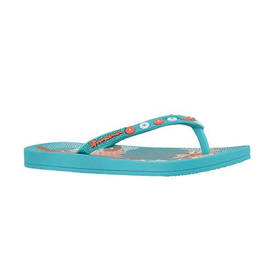 Glrs Anatomic Lovely blue flip flop