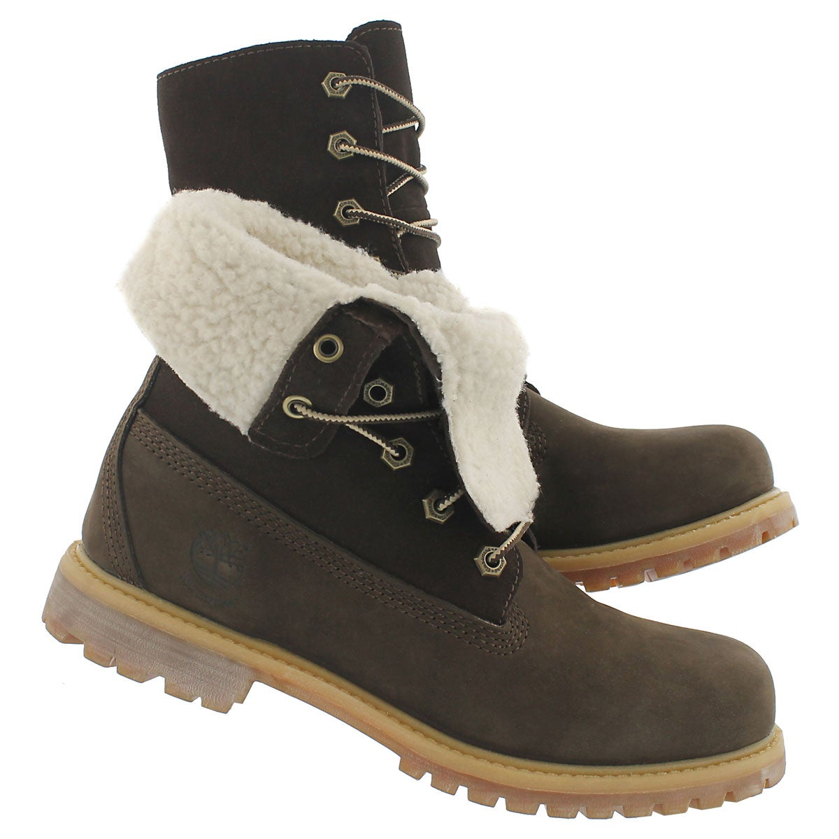 Lds AuthenticsTeddy brn fold down boot