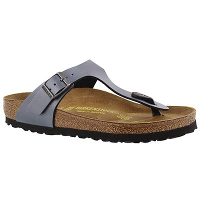 Birkenstock Women's GIZEH onyx ice thong sandals