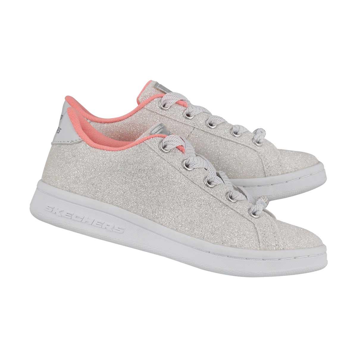 Grls Omne Shimmer Street wht sneaker