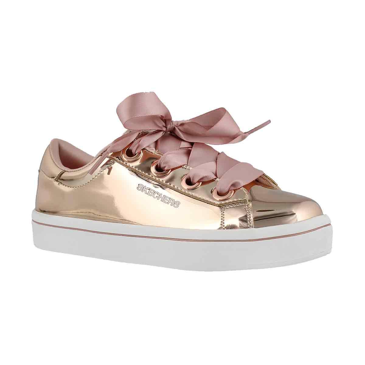 Girls' HI-LITE LIQUID BLING  rose gold sneakers