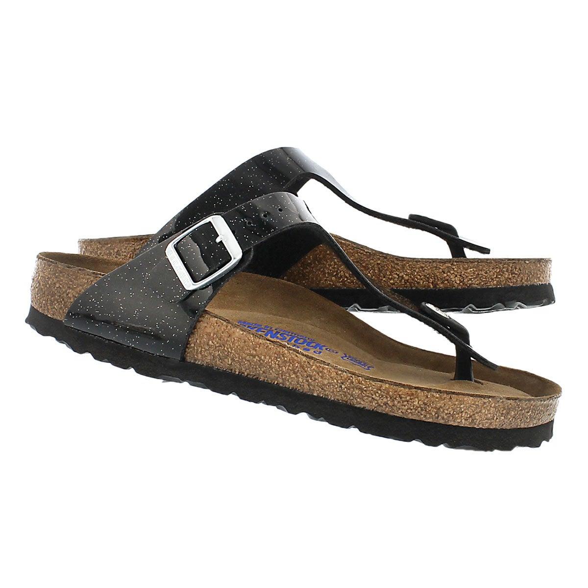 Lds Gizeh SF magic galaxy blk sandal