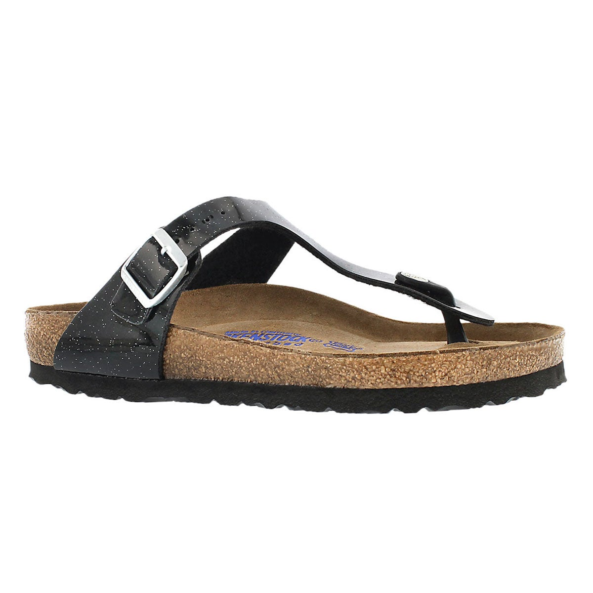Women's GIZEH SF magic galaxy black sandals