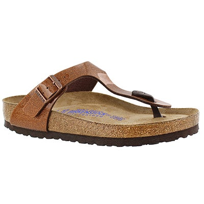 Birkenstock Women's GIZEH soft footbed magic galaxy sandals