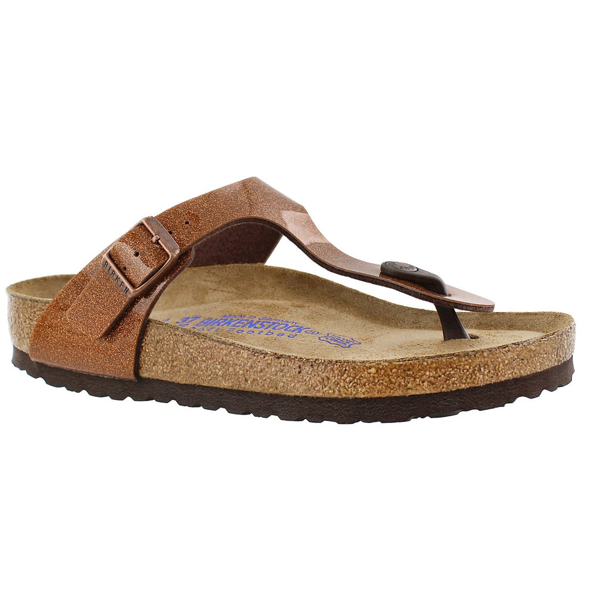 Women's GIZEH soft footbed magic galaxy sandals