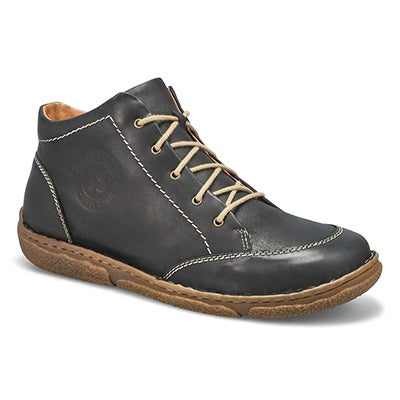 Lds Neele 01 blk casual ankle boot