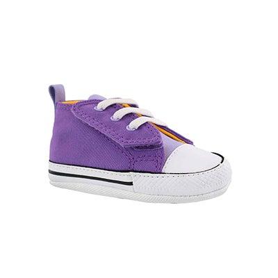 Infs CTAS First Star violet sneaker