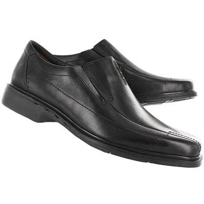 Clarks Men's UN.SHERIDAN black comfort shoes - Wide