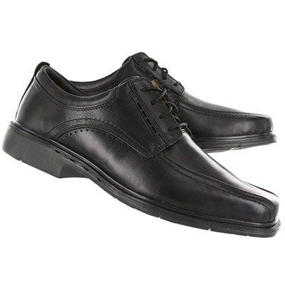 Clarks Men's UN.KENNETH black comfort oxfords - Wide