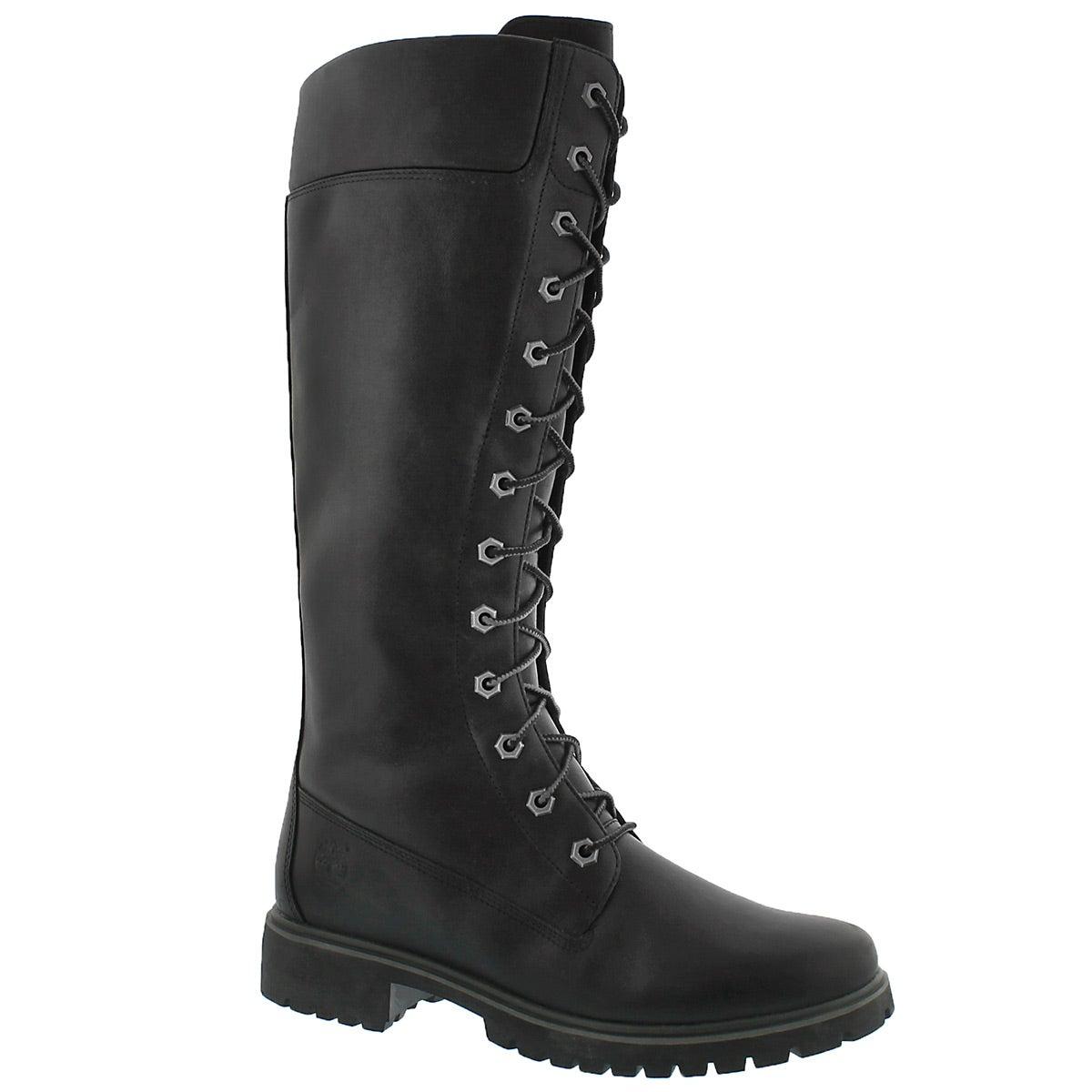 "Women's PREMIUM 14"" black tall boots"