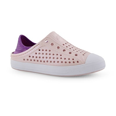 Grls Guzman Steps rse gld slip on shoe