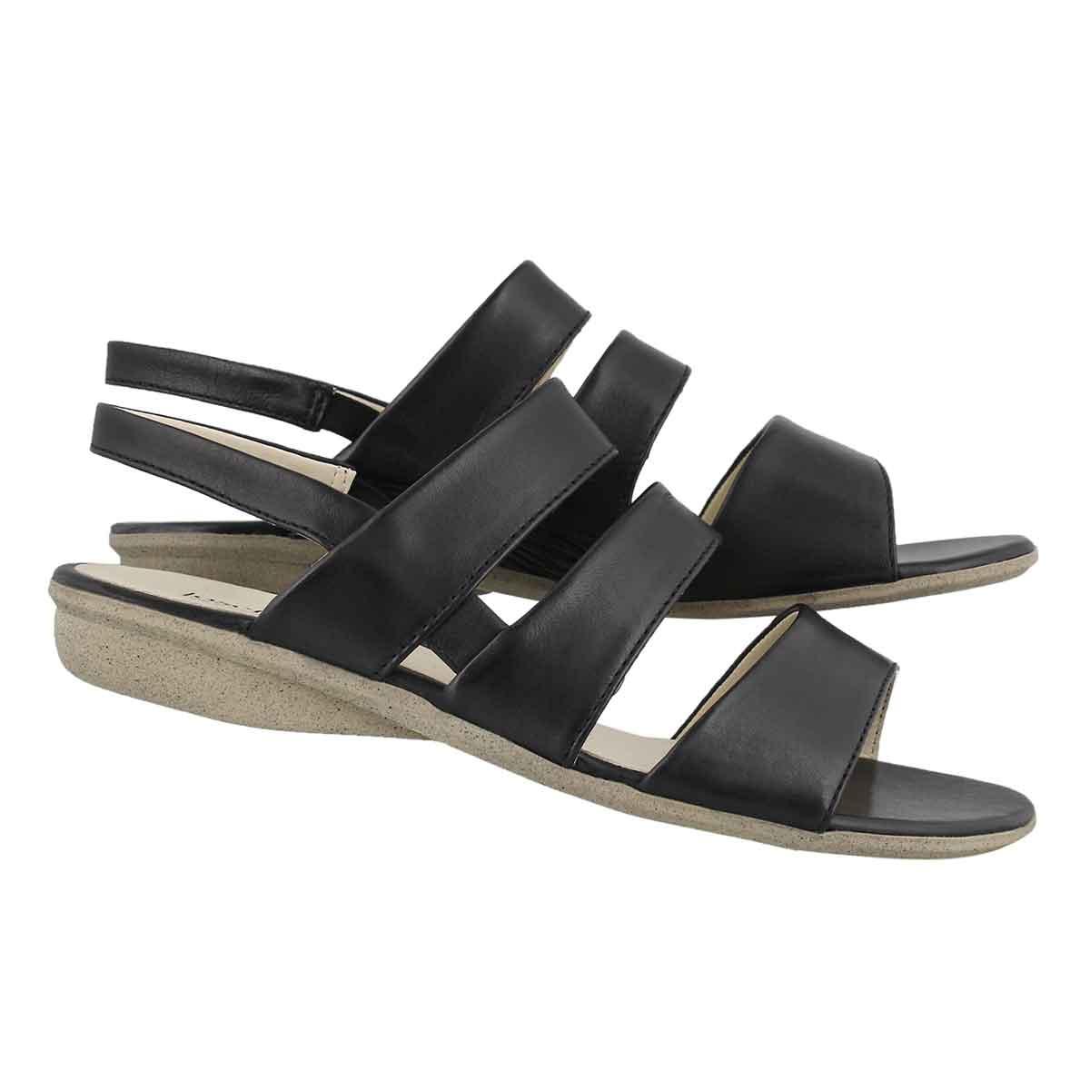 Lds Fabia 11 black dress sandal