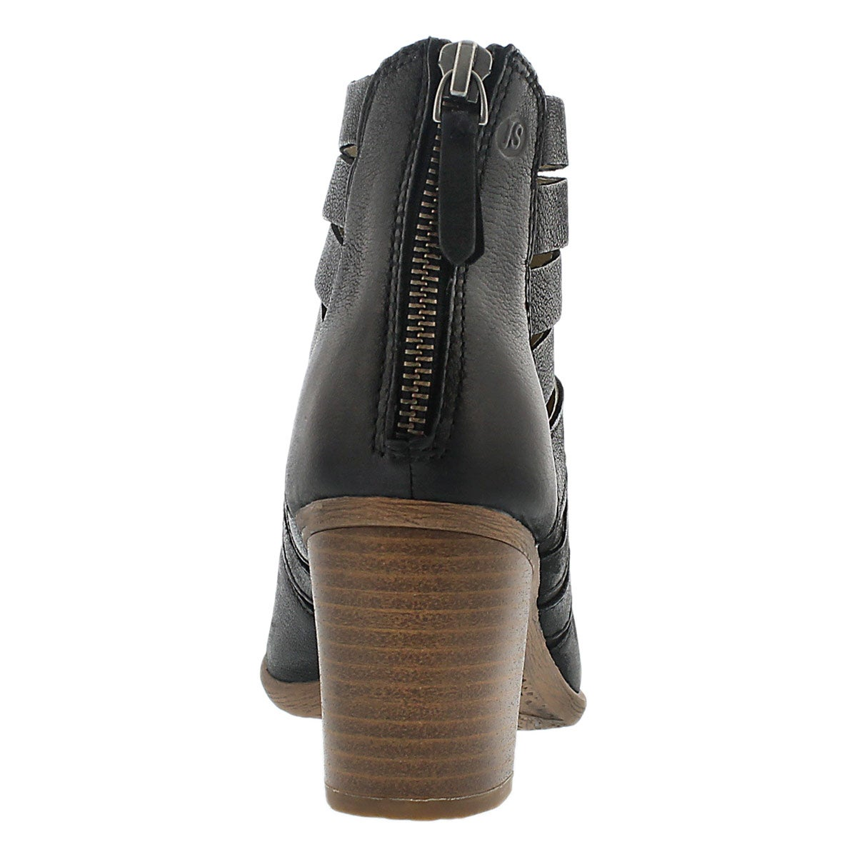 Lds Bonnie 01 black ankle boot