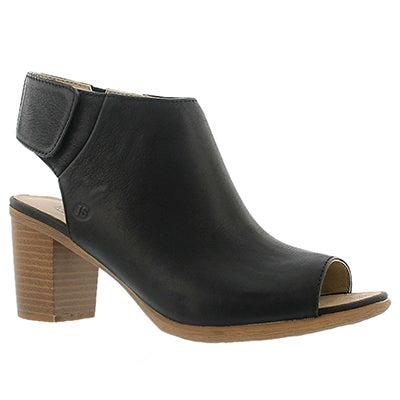 Josef Seibel Chaussures à bout ouvert BONNIE 09, noir, femmes
