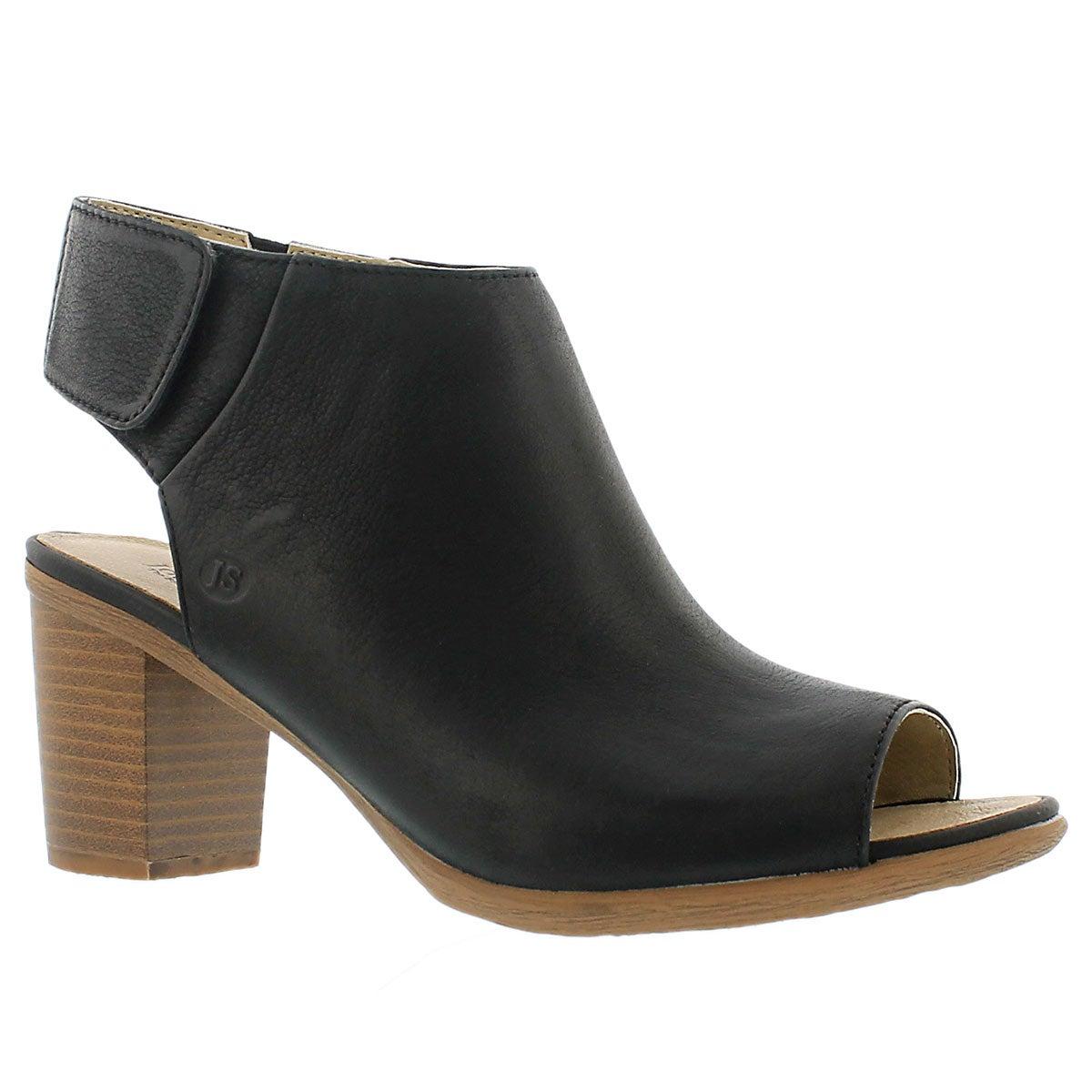 Chaussure bout ouv. Bonnie 09, noir, fem