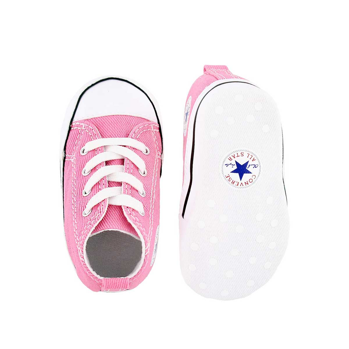 Infs CTAS Crib pink canvas sneaker