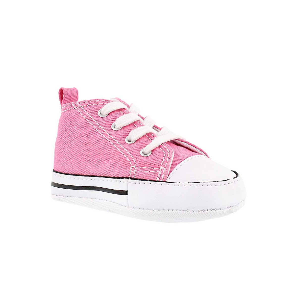 Infants' ALL STAR CRIB pink canvas sneakers