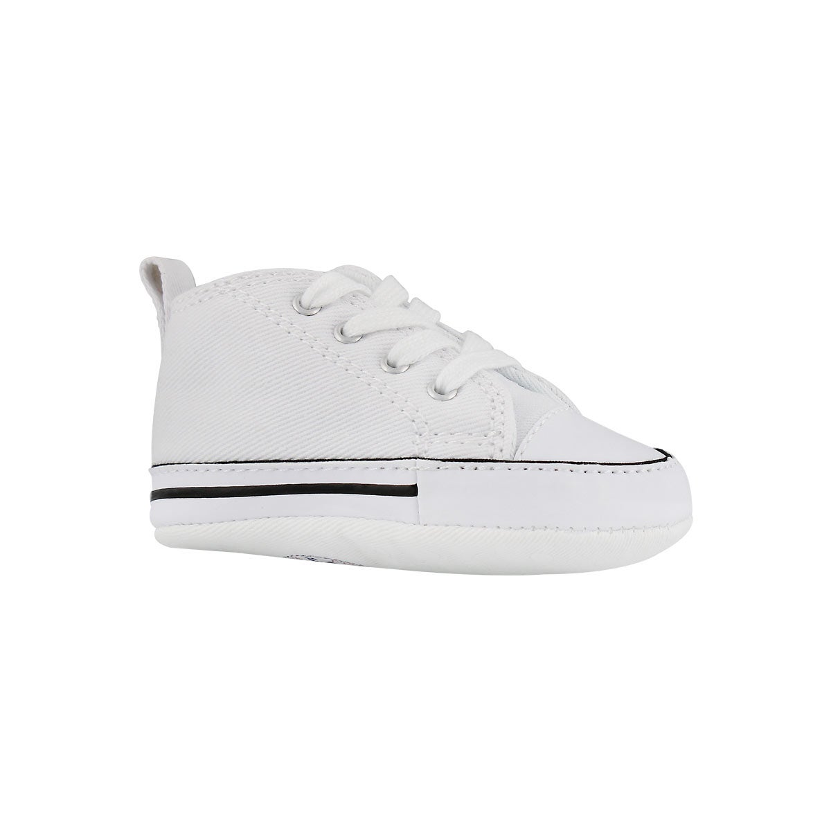 Inf CTAS Crib white canvas sneaker
