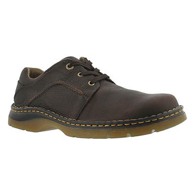 Dr Martens Men's GIBSON bark 3-Eye oxfords