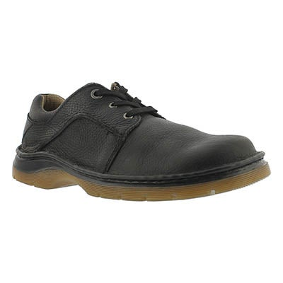 Dr Martens Men's GIBSON black 3-Eye oxfords