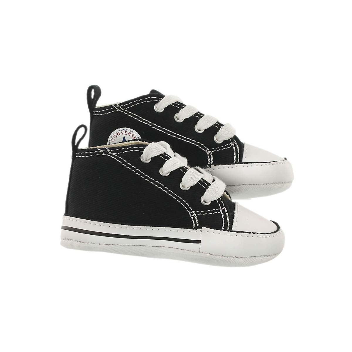 Infs CTAS Crib black canvas sneaker