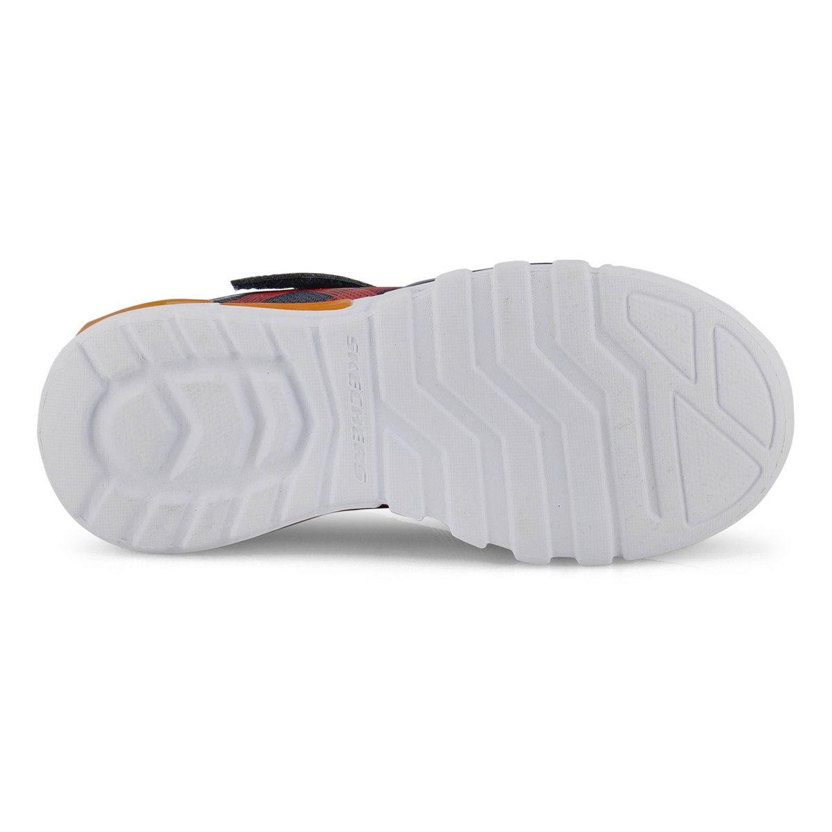 Bys Flex-glow nvy/rd light up sneaker