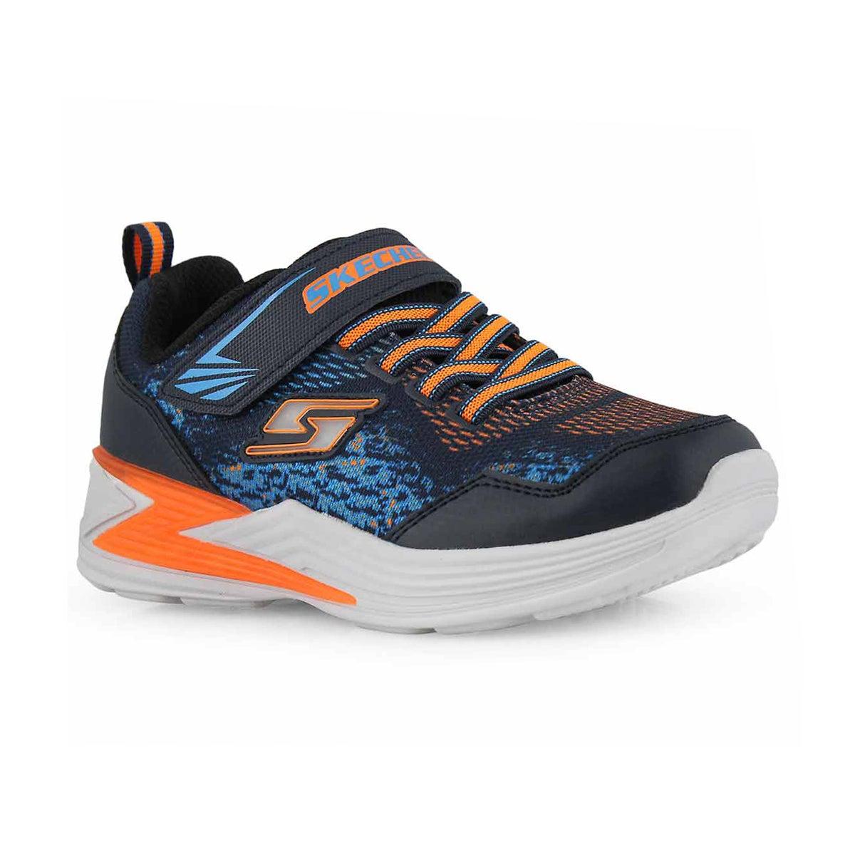 Bys Erupters III navy/orng sneaker