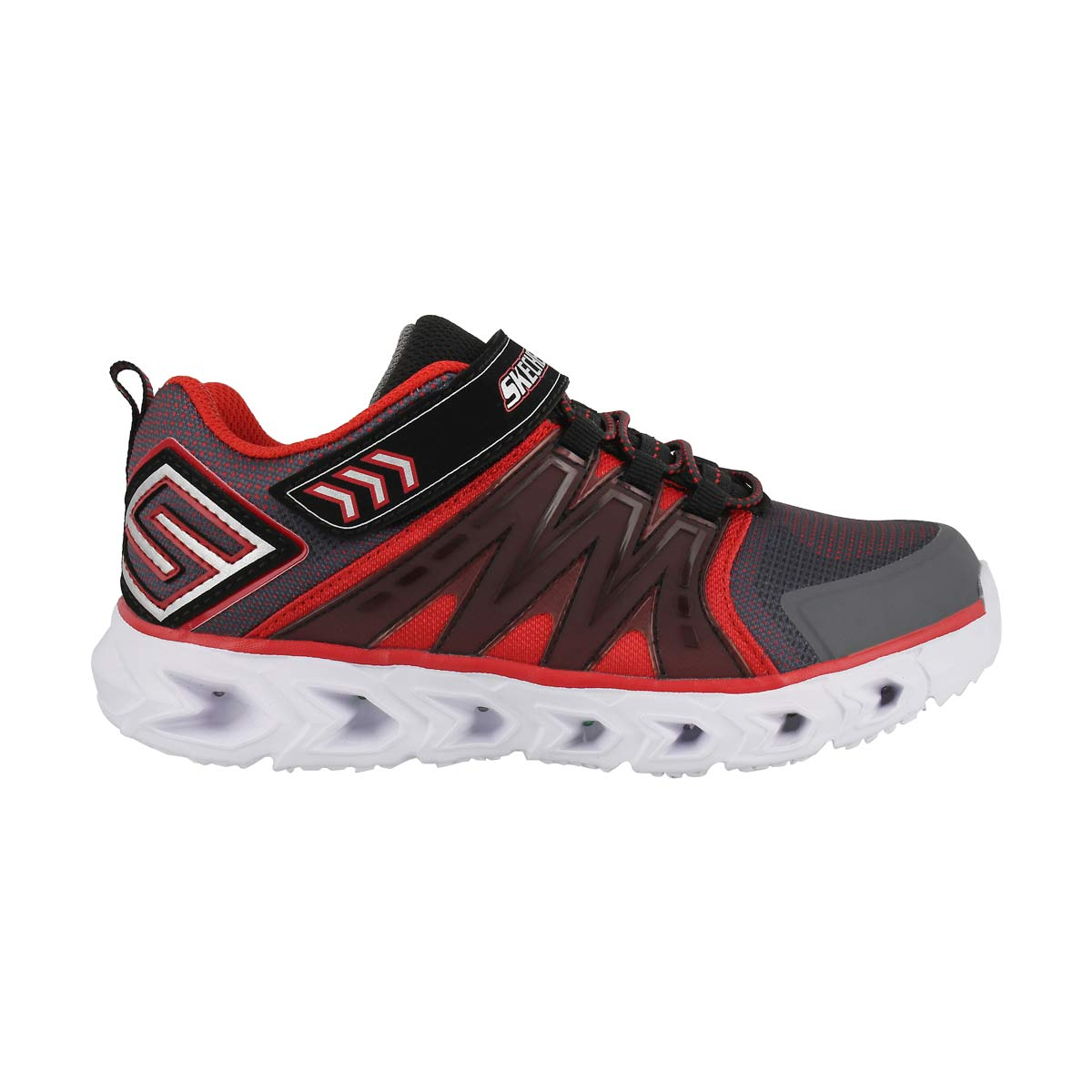 Bys HypnoFlash2.0 char/red light up snkr