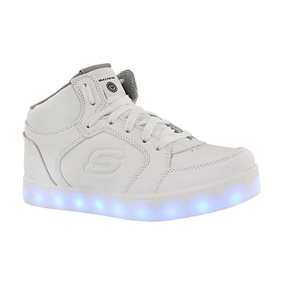 Kds Energy Lights light up wht sneaker