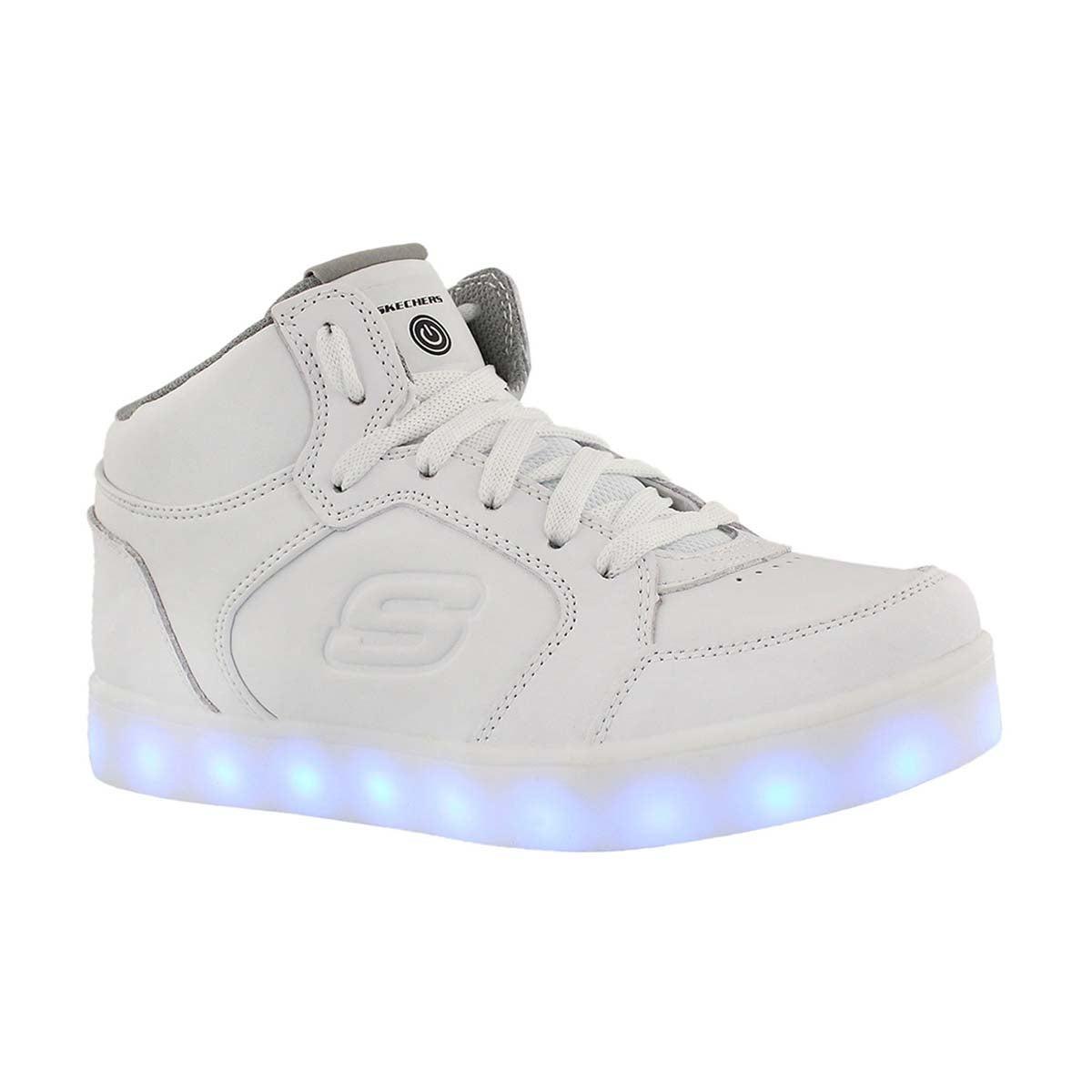 Kids' ENERGY LIGHTS light up white sneakers