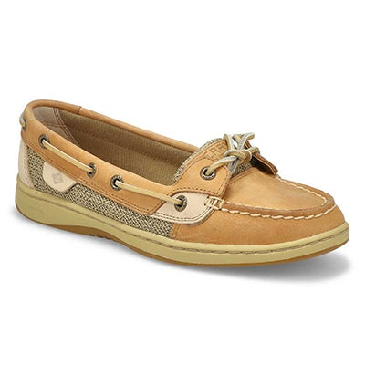 Sperry Women's ANGELFISH tan boat shoes