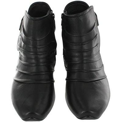Josef Seibel Women's TINA 02 black low dress boots