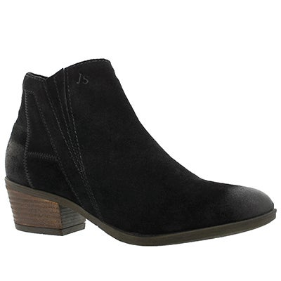 Lds Daphne 09 schwarz slip on dress boot