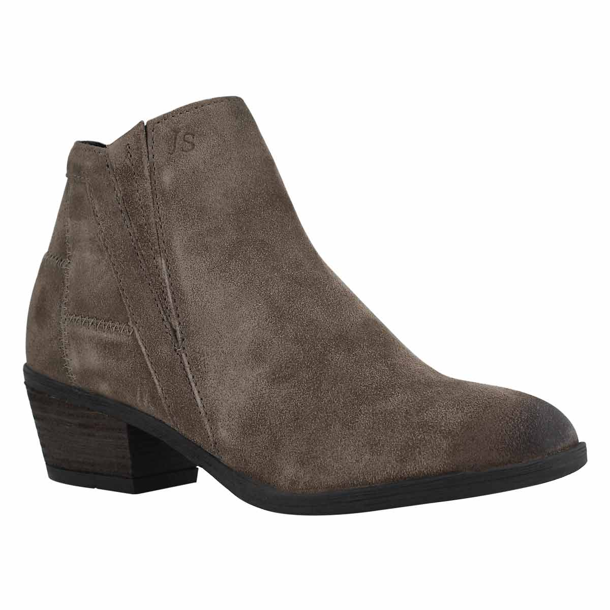 Lds Daphne 09 taupe slip on boot