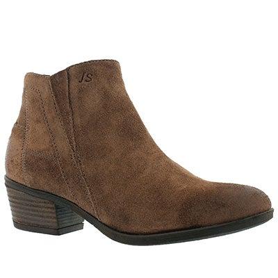 Lds Daphne 09 braun slip on dress boot