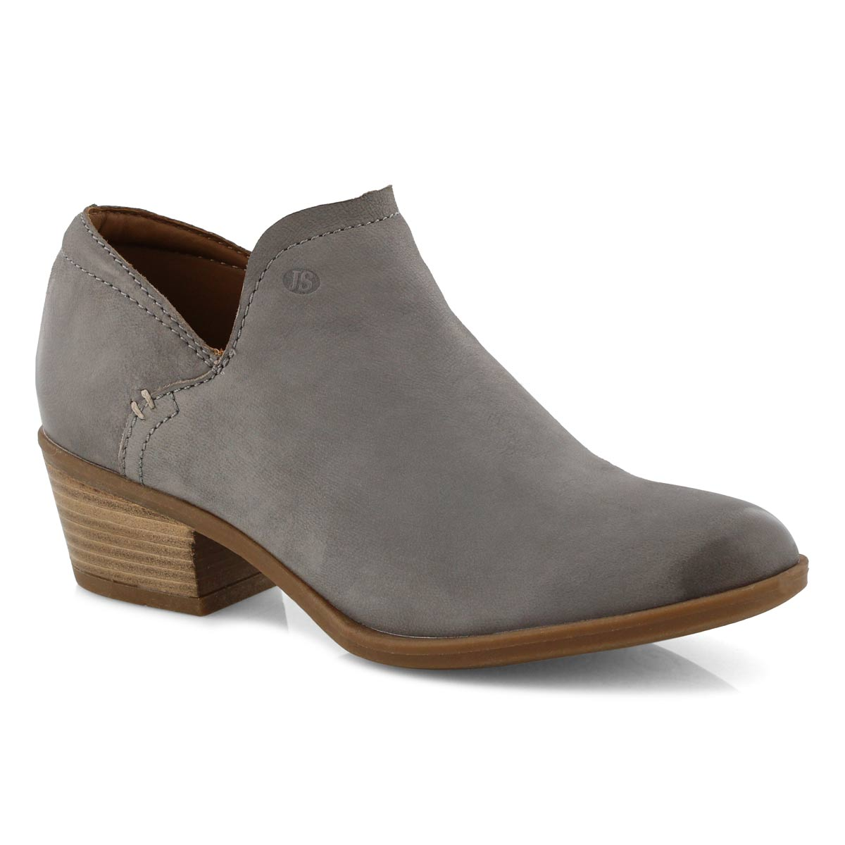 Lds Daphne 29 grau slip on dress boot